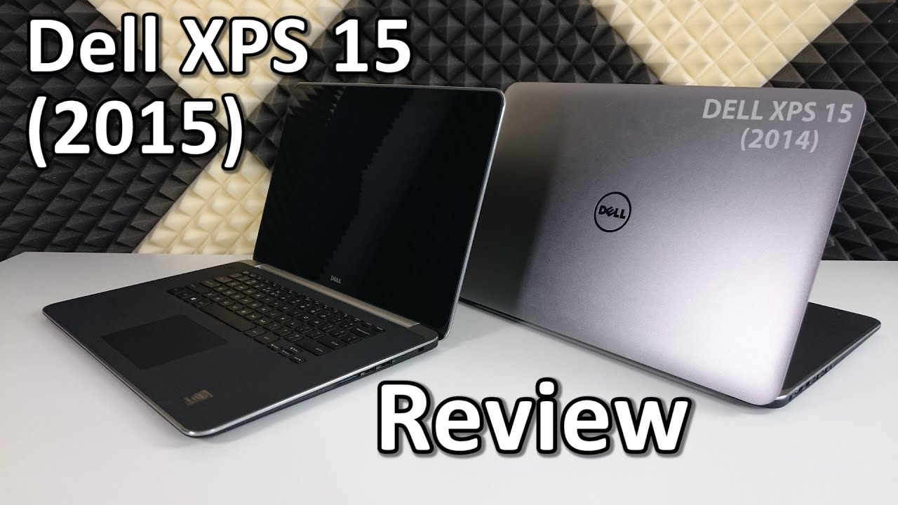 Dell XPS 15 (2015 UHD 4K) Review & Comparison with the 2014 model - YouTube