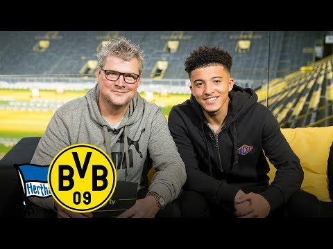 'The street football player is still in me!' | Jadon Sancho joins Matchday Magazine | Berlin - BVB