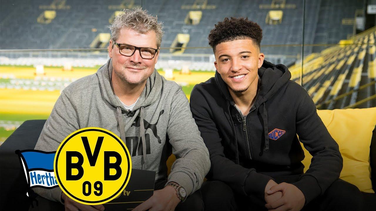 """""""Der Straßenfußballer bleibt immer in mir!""""   Jadon Sancho im Feiertagsmagazin   Hertha BSC - BVB"""