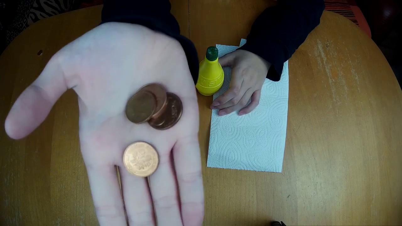 Münzen Reinigen Life Hack Youtube
