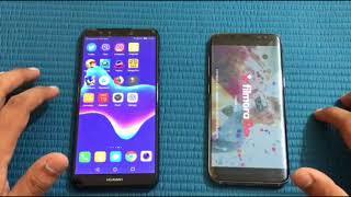 Huawei y9 2018 vs Samsung galaxy s8 - Speed Test!