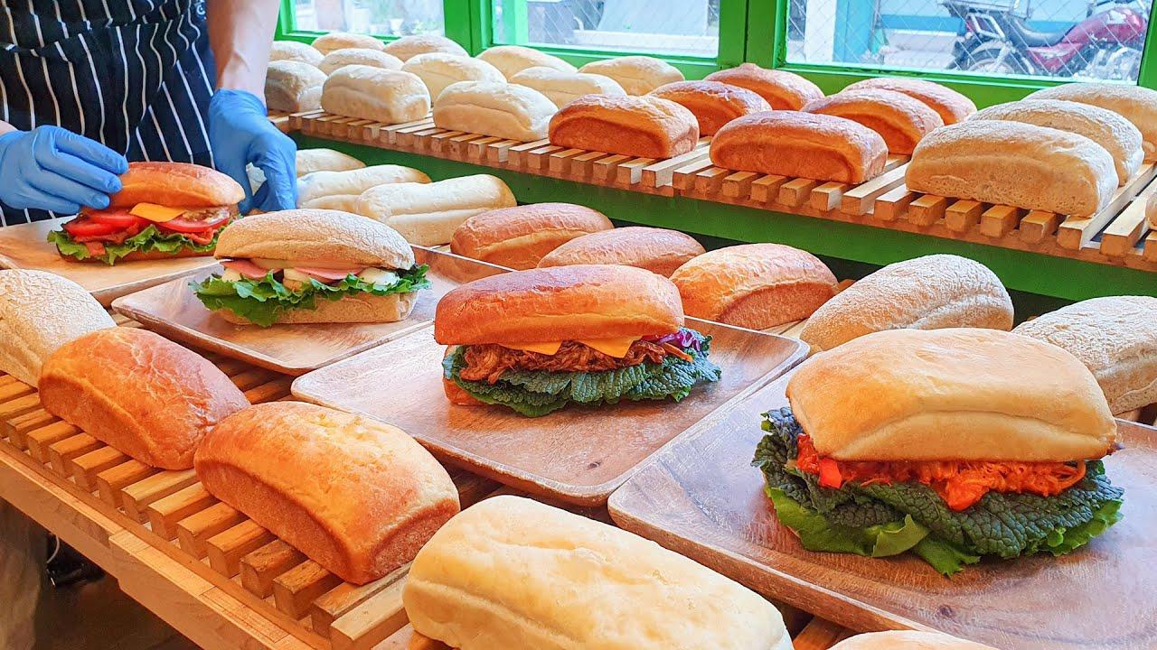 Handmade Sandwich l Ciabatta, Brioche, Campagne - Korean Street Food