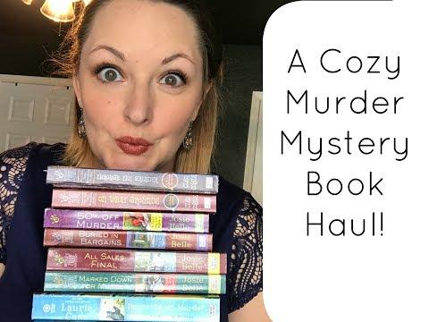 Cozy Mystery Book Haul