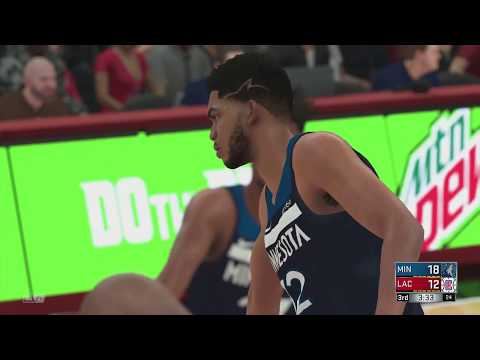 NBA Today 12/6/2017 - Minnesota Timberwolves vs Los Angeles Clippers (TWolves vs Clippers NBA 2K18)