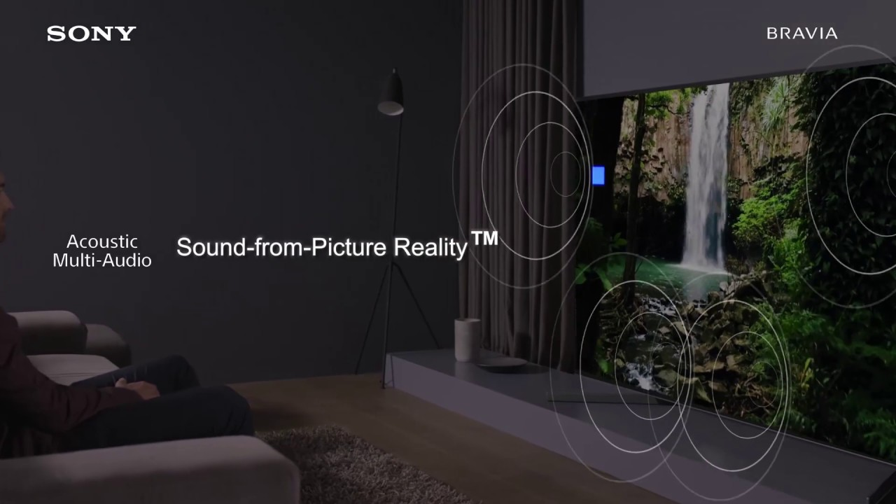 Sony BRAVIA X9500G - Be Immersed in Sound and Vision