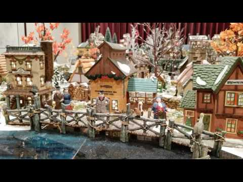 For Sale - Dicken's Christmas Village Department 56 Collection