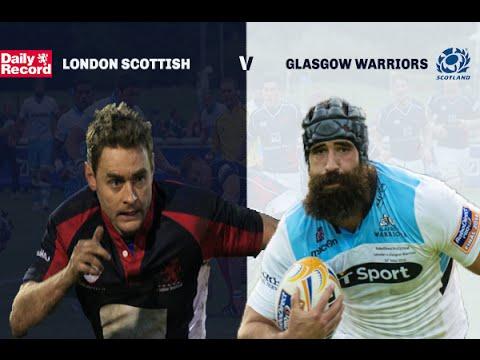 London Scottish v Glasgow Warriors