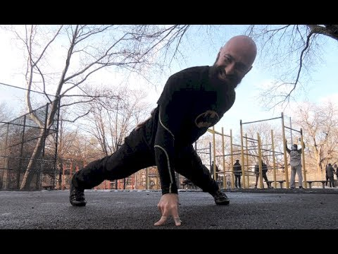 One Arm Push-up Variations - YouTube