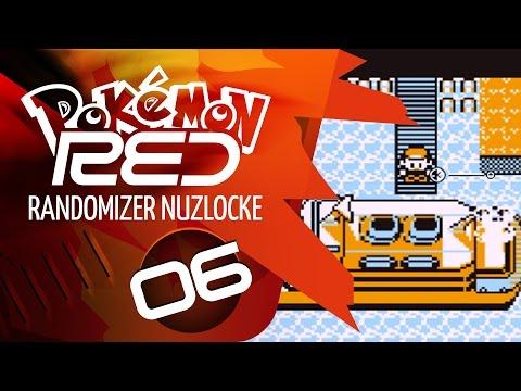 Pokemon Red Randomizer Nuzlocke Part 6: I'm on a boat!