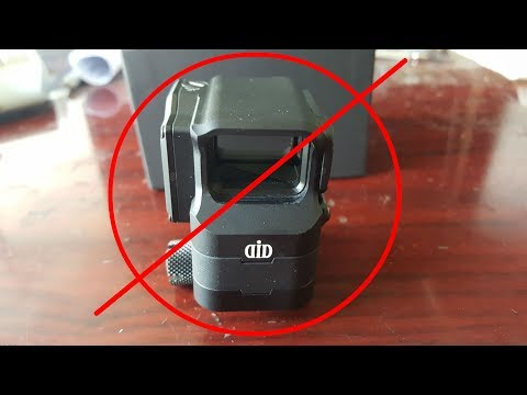 Blackcat Airsolf EG1 Optical Reflex Red Dot Sight Holographic In Grey