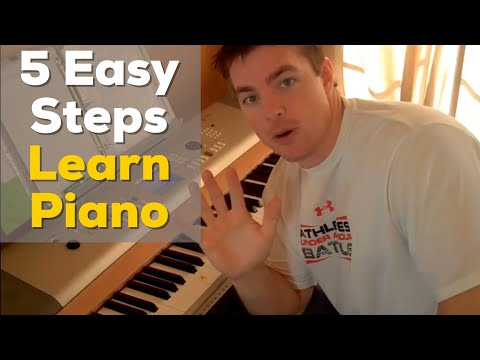 5 Easy Steps to Learn Piano - Matt McCoy  (No reading music)