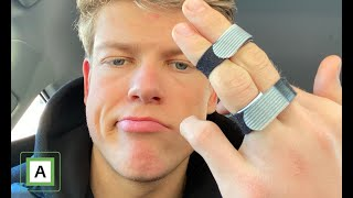 I broke my finger! | Vlog 4⁴