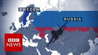 Why Sweden is concerned about Russian provocation - BBC News thumbnail