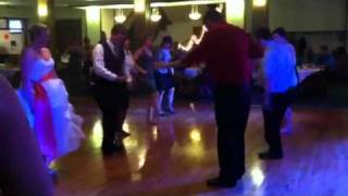 Fun wedding country line dance