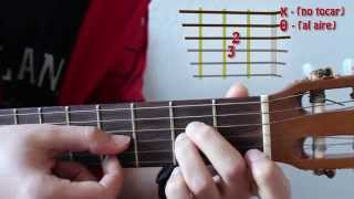 Como tocar el acorde de LA MENOR. Cambiar y combinar. Curso básico de Acordes 5