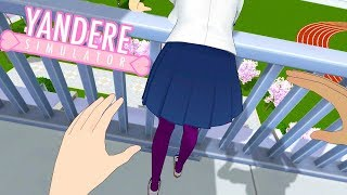 Playing Yandere Simulator IN FIRST PERSON! | Yandere Simulator Mod thumbnail