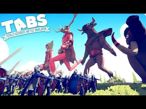 TABS - CAN WE DEFEAT THE TITANS?! NEW Custom Units Mod! - Totally Accurate Battle Simulator