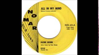All In My Mind #19 - Maxine Brown  1961   Nomar 103