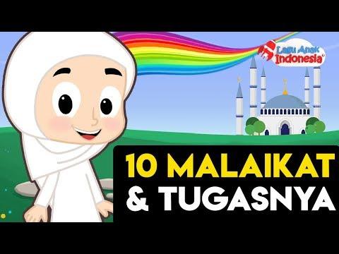 Lagu Anak Islami Lagu Populer – Sepuluh Malaikat dan Tugasnya – Lagu Anak Indonesia