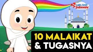 Lagu Anak Islami Lagu Populer Sepuluh Malaikat dan Tugasnya Lagu Anak Indonesia