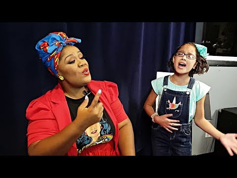 Adorable 10 Y/o Sings I Will Always Love You W/ Vocal Coach (subtitles)