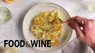 Andrew Zimmern's Creamy Lemon Pasta | Recipe | Food & Wine