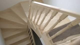 видео Изготовление и монтаж лестниц