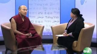 His Holiness the 17th Karmapa visits Radio Free Asia 7-15-2011.wmv