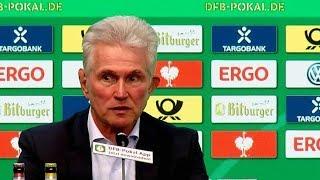 Highlights der PK nach dem Pokal-Finale mit Jupp Heynckes