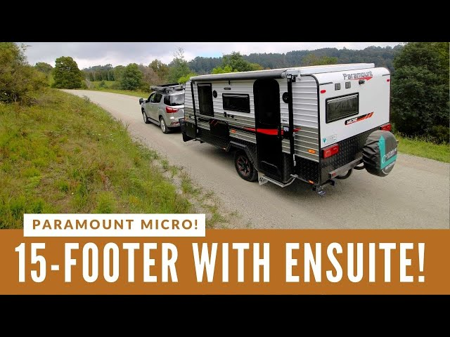 COMPACT POP-TOP VAN, LOADS OF FEATURES! Paramount Caravans Micro has an exciting layout!
