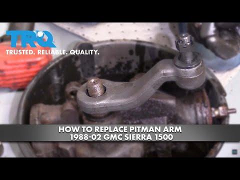 How to Replace Pitman Arm 1988-02 GMC Sierra 1500