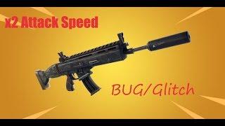 FORTNITE - France ATTACK SPEED Bug/Glitch Scar