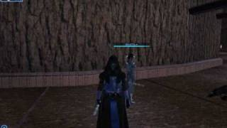 KOTOR Blue Darth Revan Robes with Battle sequence
