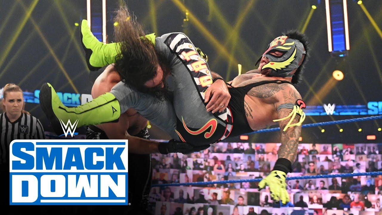 Rey Mysterio vs. Seth Rollins - No Holds Barred Match: SmackDown, Nov. 13, 2020