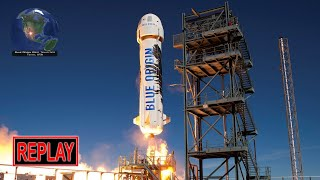 LIVE: Jeff Bezos launches his rocket to space! Blue Origin New Shepard NS-12