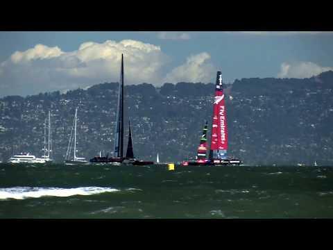 America's Cup Race 19 San Francisco