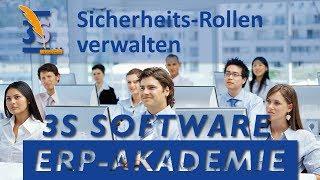 3S ERP-Software: Schulung Sicherheitsrollen
