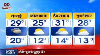 Weather: Srinagar at min. 0 degree Celsius and forecast from other cities