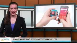 remote monitoring keeps caregivers in the loop