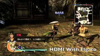 真・三國無双7/Dynasty Warriors 8 Ma Chao Quality Comparsion HDMI vs  Component