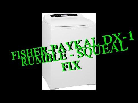 Fisher Paykel DX-1 Smartload Squeaking RUMBLE FIX