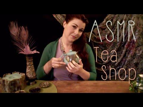 ASMR Role Play: Relaxing Tea Shop Visit (~˘▾˘)~