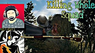 Pubg Mobile   Dynamo's Squad vs My Mobile Subscribers   Only Kills Montage   Rush & Kill