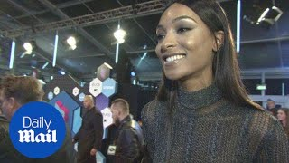 Jourdan Dunn excited to be in Rotterdam as she talks EMAs - Daily Mail