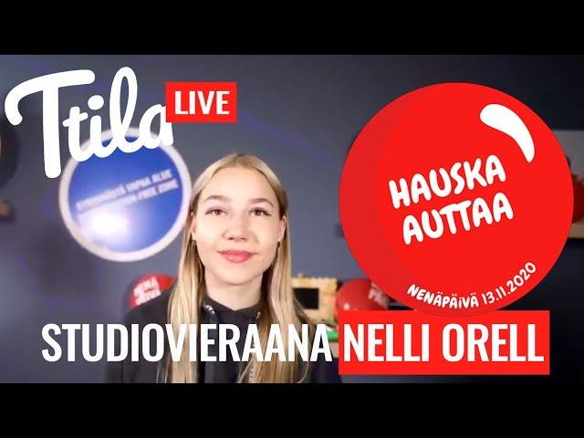 Ttila LIVE: Nelli Orell kertoo miten aloittaa tubettaminen (10.11.2020)