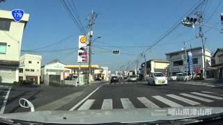 【国道179号】兵庫県太子町~鳥取県湯梨浜町(10倍速)