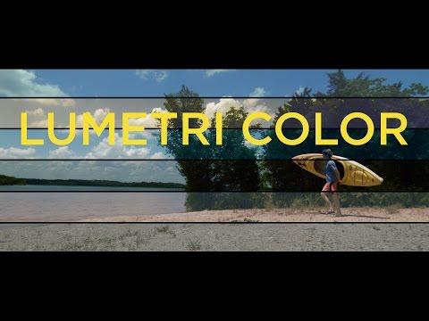 Premiere Pro CC 2015 Lumetri Color Tutorial