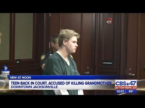 Teen accused of killing grandma in Duval County
