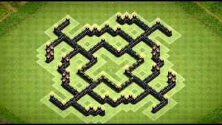 Clash of Clans - Great Town Hall 7 Farming Base (Sieben) Speed Build