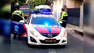 Suara Sirine Polisi MP3 LAMPU Rotator Rotary LED Mobil Patroli Patwal Satlantas Terbaik 2019